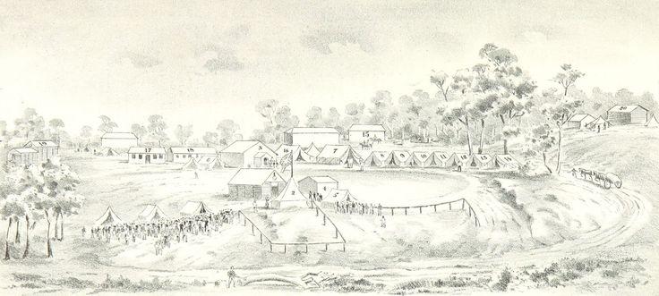 Bendigo Government Camp 1853
