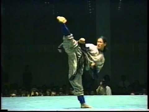 Michael Chaturantabut Empty Hand Kata at 1996 U.S. Open World Karate Tournament - YouTube