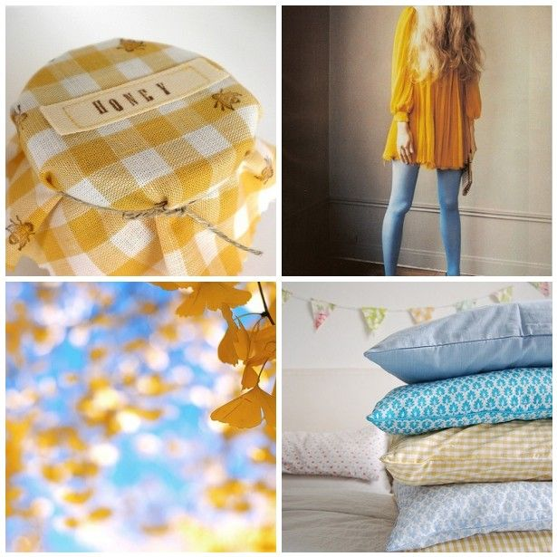 Inspiration Daily: Canary + BlueSky - Home - Creature Comforts - daily inspiration, style, diy projects + freebies