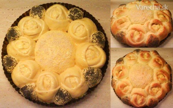 Ružičkový koláč (fotorecept)