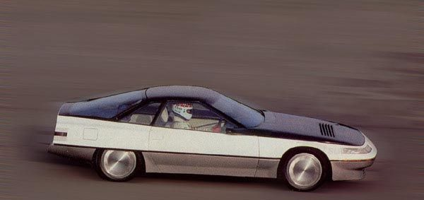 Toyota FX-1, 1983, Cd=0.25