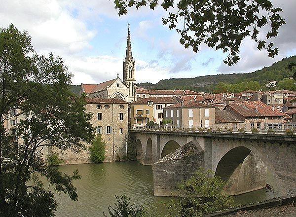 Saint Antonin-Noble-Val,Tarn et Garonne.