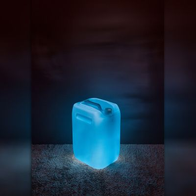 Lamp Koh Blue Water Container