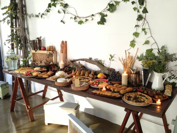 Fabulous Buffet Styling At The Kinfolk Honey Harvest Workshop