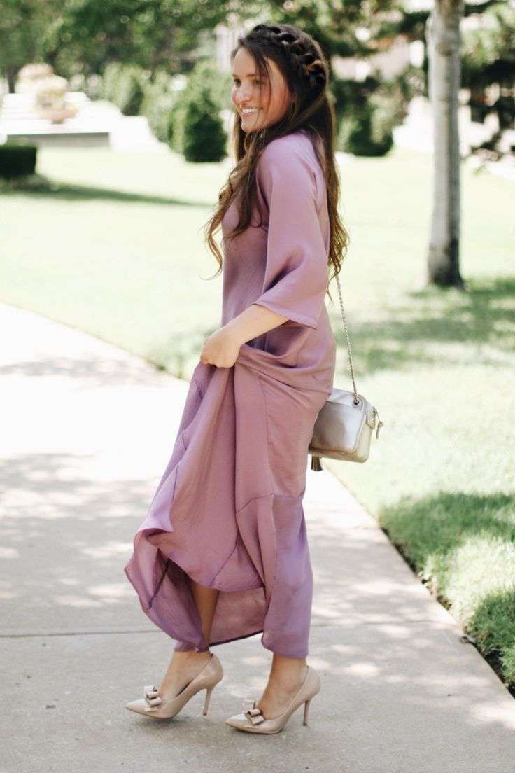 WUKO Gals Lilac Grace Dress | Courtney Toliver