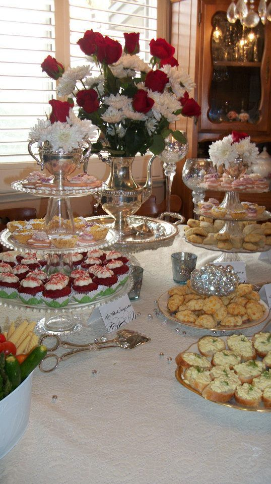 A November afternoon Victorian Tea Party