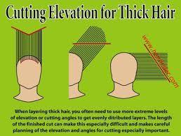 cutting hair diagrams -