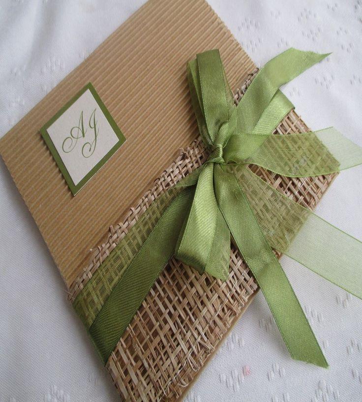 Dise os de invitaciones r sticas para boda con 11 ejemplos - Disenos de chimeneas rusticas ...