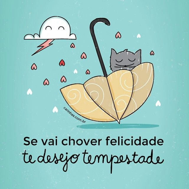 #chuva #felicidade