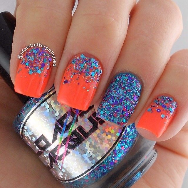 lifeisbetterpolished #nail #nails #nailart Let ya know what you think by clicking the image!