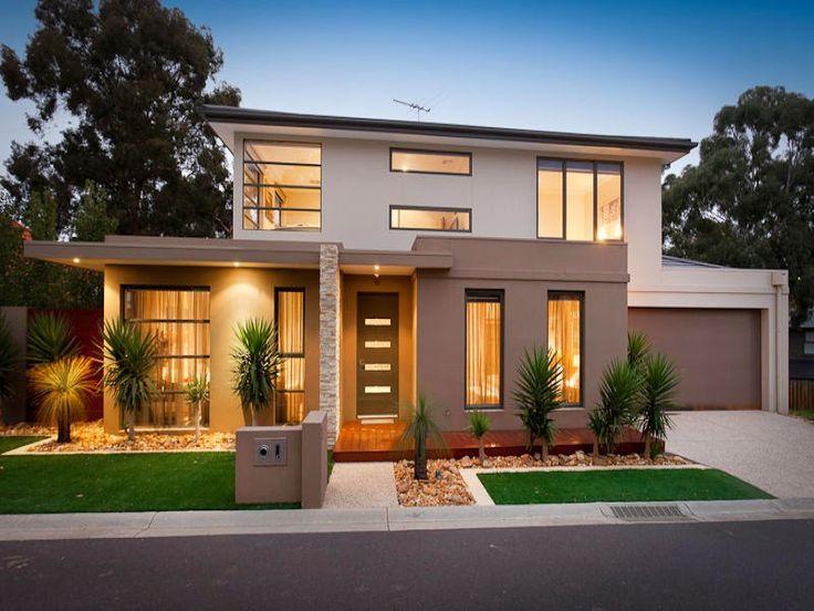 Las 25 mejores ideas sobre fachadas de casa en pinterest for Disenos para frentes de casas