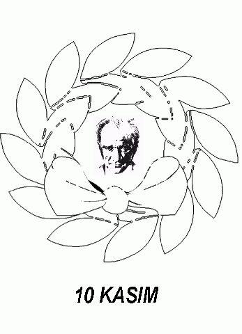 10 Kasım Boyama Resimleri öğrenciler Için Atatürk Pinterest