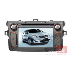 Car DVD Player for Toyota Corolla 2007-2011 with GPS Radio Bluetooth TV Toyota Corolla 2007 2008 2009 2010 2011 Car DVD Player with GPS Radio Bluetooth TV [CS-T006] - US$308.00 : GPS navigation system