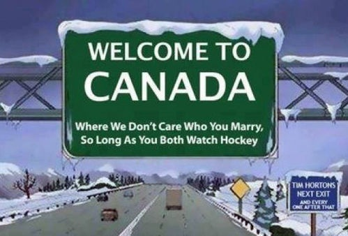 """""""Tim Hortons next exit. and every one after that"""" Uhhh, yeah, pretty much."""