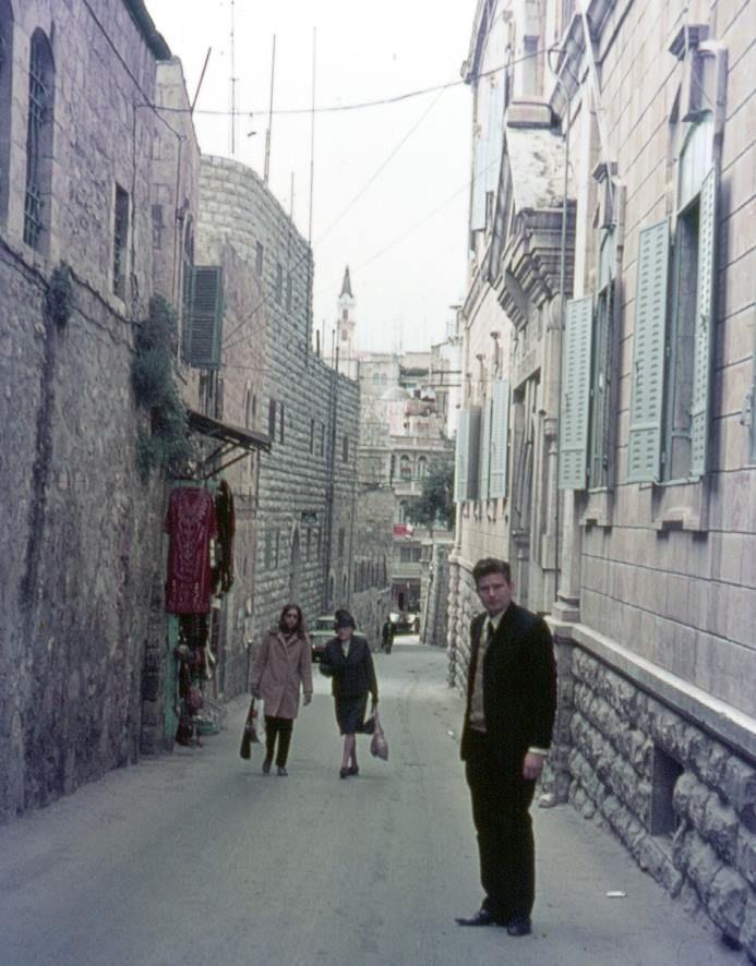 Bles, Frank's friend, Via Dolorosa Jerusalem 1972