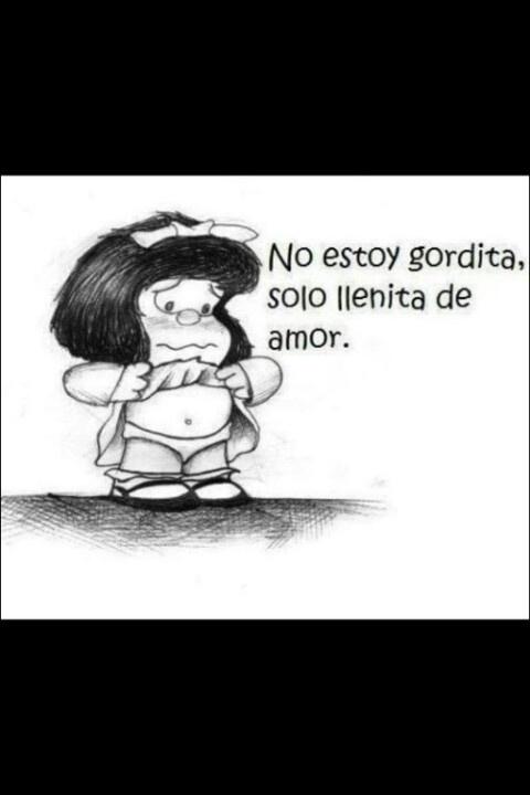 El mundo de Quino - Mafalda #mafalda llenita de #amor