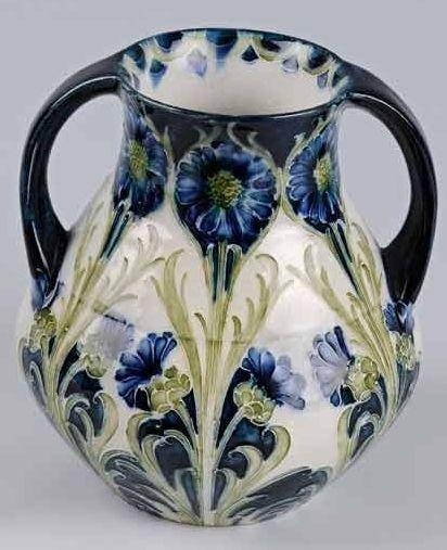 87 best Moorcroft Pottery images on Pinterest   Flower vases ...