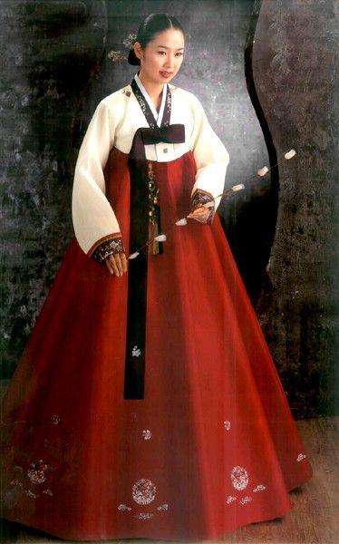 Korean Traditional Dress (Women's Hanbok).