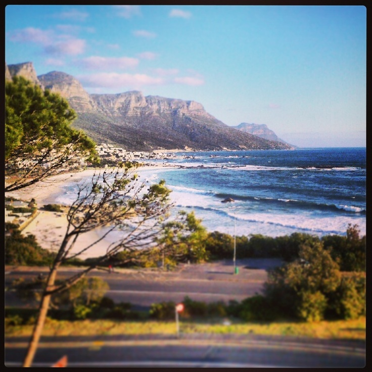 Camps Bay Cape Town on a Winters Day