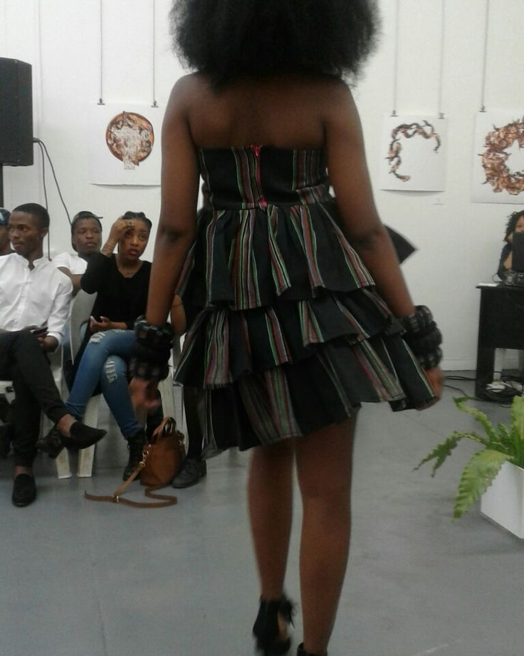 From Pabalelo Mashabela's debut fashion collection