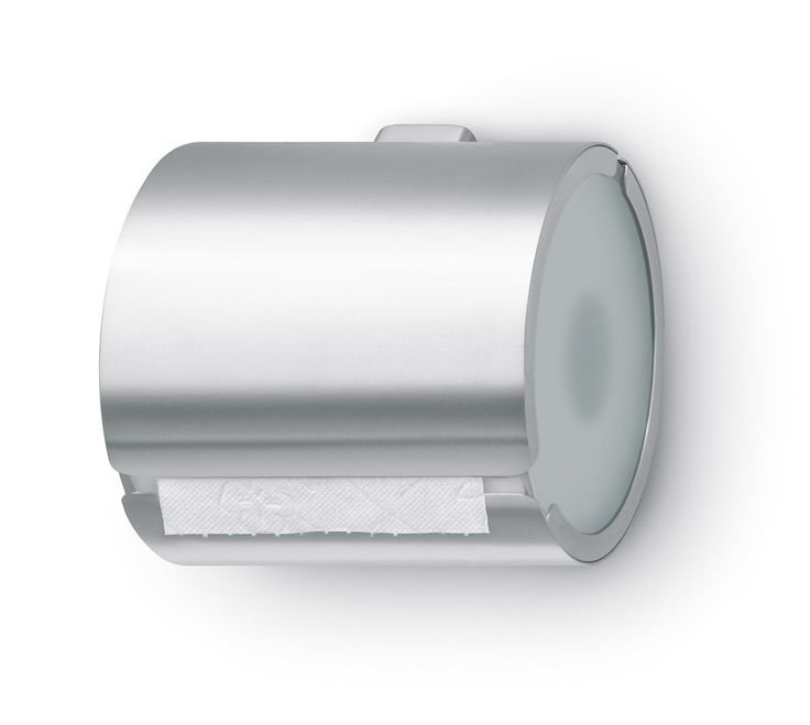 how to change toile roll in metal box dispenser