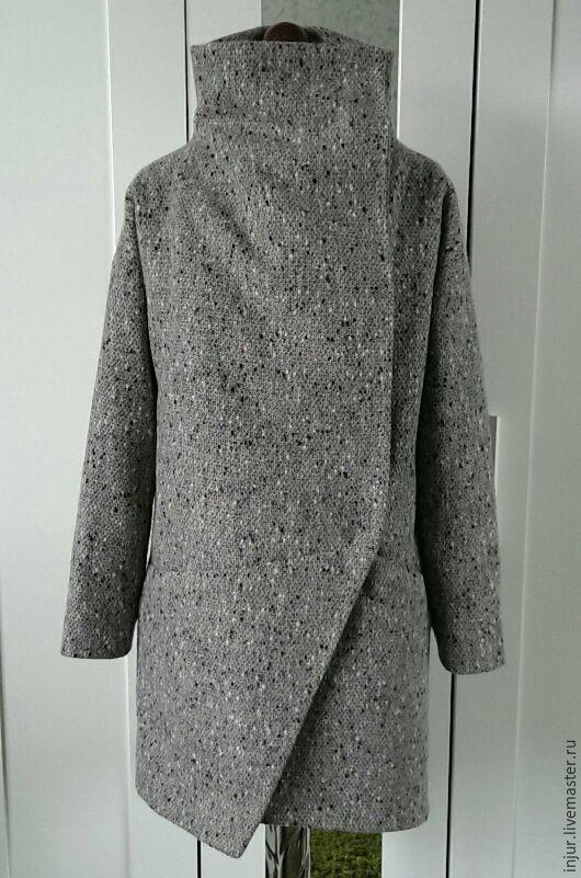 Купить Пальто зимнее. Пальто оверсайз. - пальто, пальто женское, пальто из шерсти, пальто оверсайз