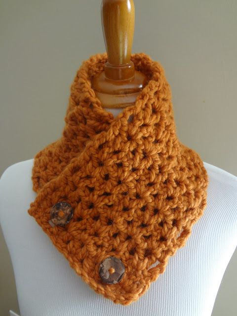 Fiber Flux...Adventures in Stitching: Free Crochet Pattern...Butternut Squash Neckwarmer!