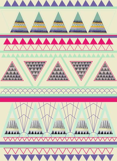Aztec Art Print by Dream_scape | Society6