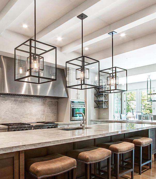 Best 25+ Kitchen Island Light Fixtures Ideas On Pinterest