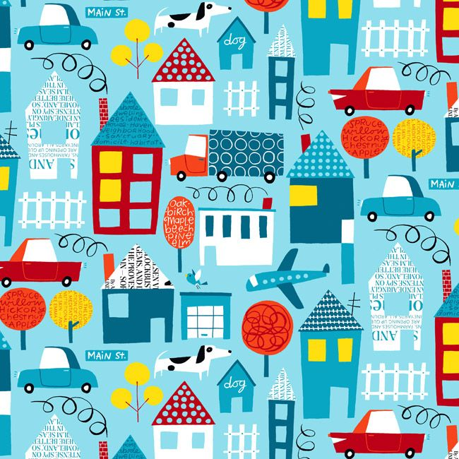 suburbia nancy wolff kids printskids - Kid Prints
