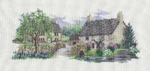 Bluebell Lane by Derwentwater Designs (10 of 10), counted cross stitch kit