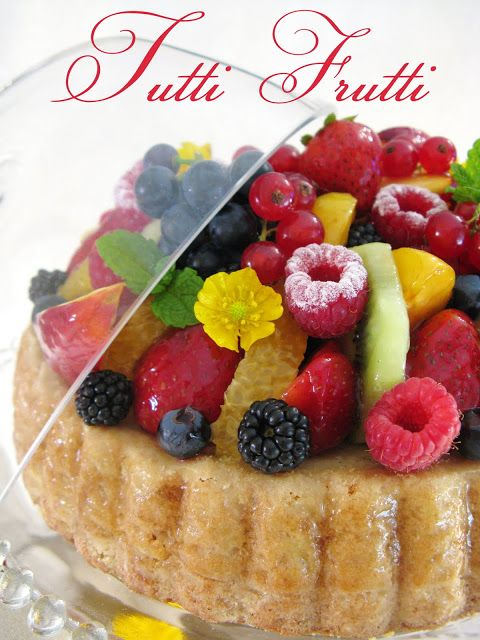J'en reprendrai bien un bout...: Tutti Frutti