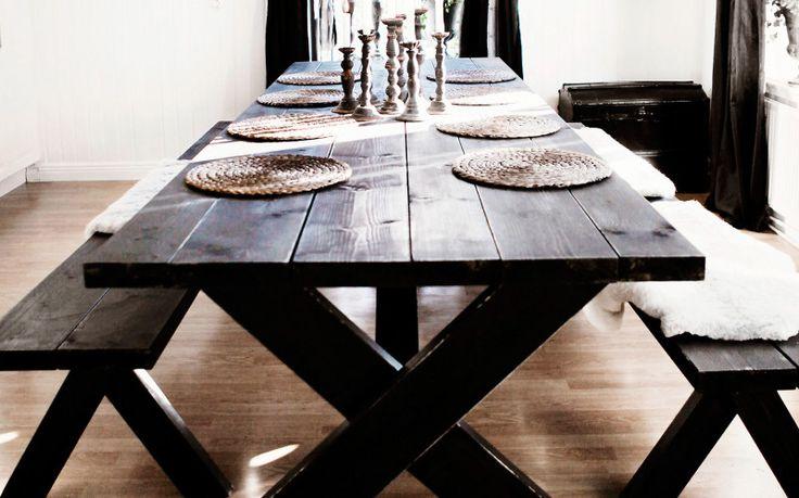 Härligt hemma   Så bygger du ett eget matbord