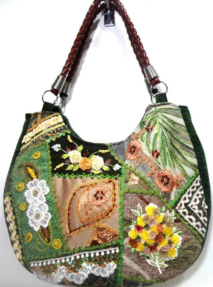 M s de 17 im genes excelentes sobre bolsos textil varios - Tecnicas de patchwork a mano ...