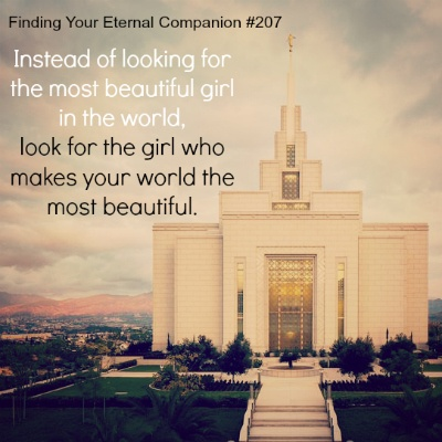 Mormon dating quotes