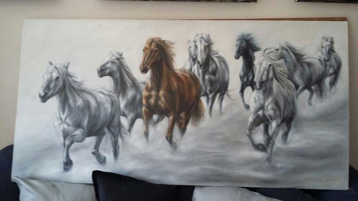 Artist Sarita. ..@ Laubar Art #art #artist #painting #gallery #southafrican