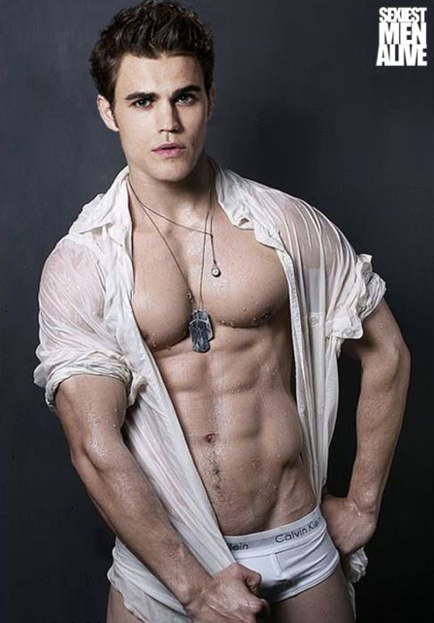 Stefan Salvatore...I wish he would play vampire like this ...