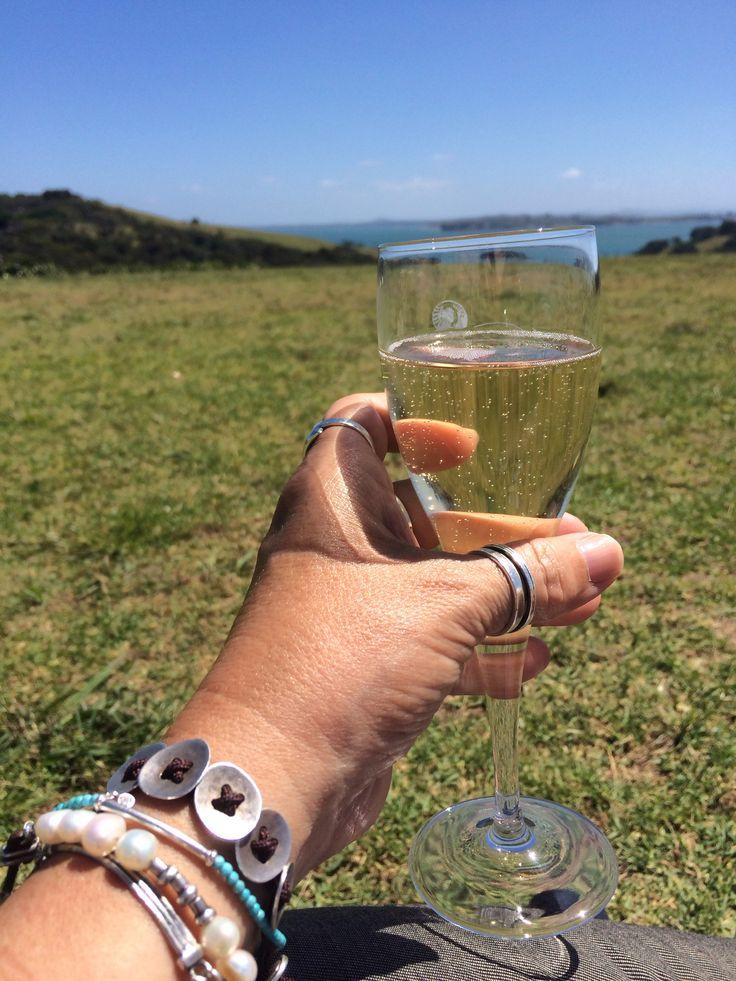 Cheers! From Waiheke Island, NZ