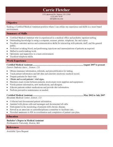 Best 25+ Medical assistant description ideas on Pinterest - medical assistant dermatology resume