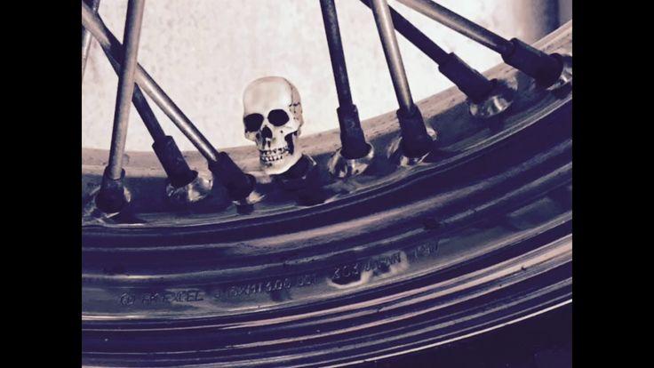 Skulls for Road - air valve stem caps - YouTube