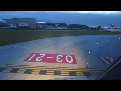 Aterragem no aeroporto de Lisboa