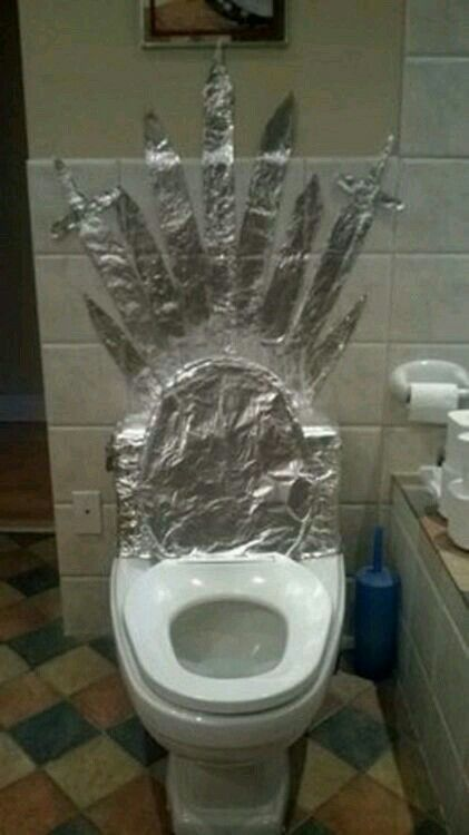 The Iron Throne from Game of Thrones.