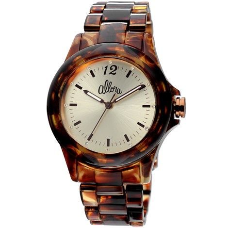 Relógio Allora Feminino Casco de tartaruga - AL2035HA/2D $ 133,90