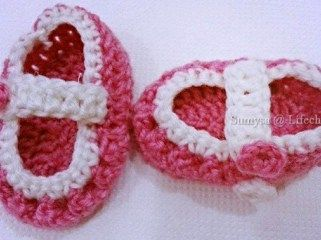 Step By Step Crochet Baby Booties Tutorial By Sumysa Kadija