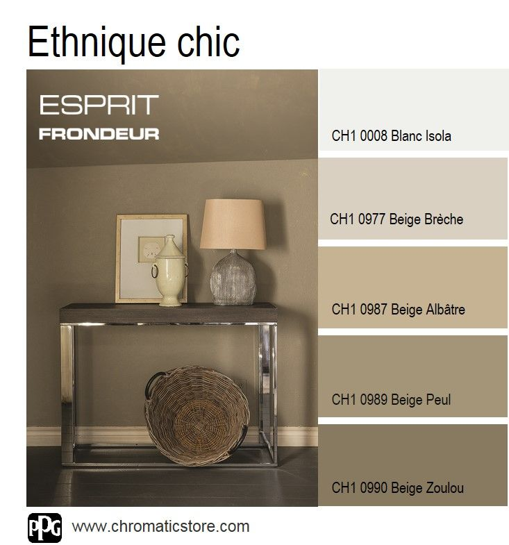 52 best chromatic du beige au brun images on pinterest colors color pale - Bureau couleur taupe ...