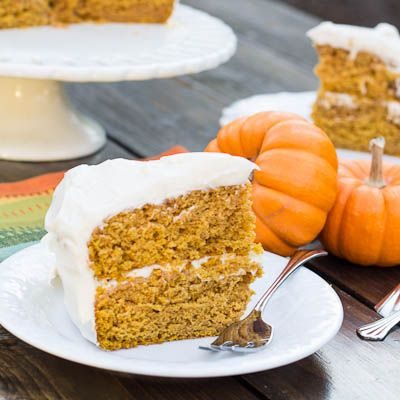 Recipe: Pumpkin Cake with Maple Frosting — Fort Mill SC Living