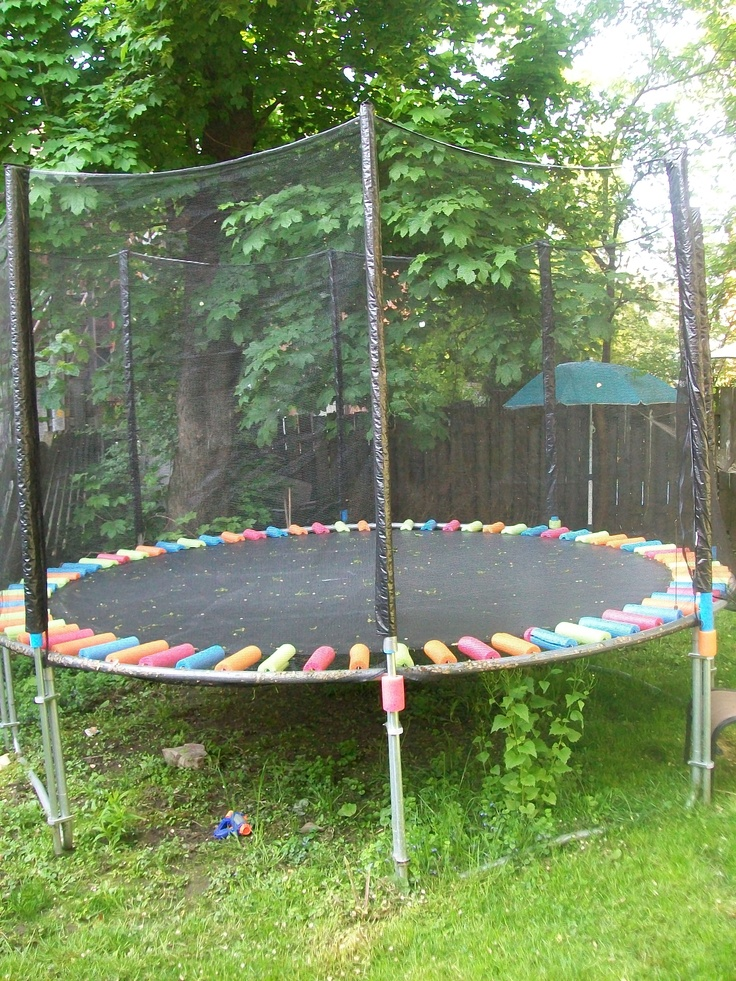 Beautiful So I uve had this awesome trampoline