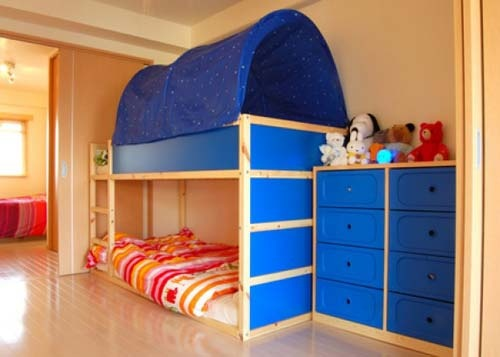 image detail for boys sharing room with playful bunk bed design ideas kids bunk