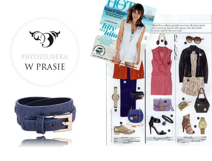 By Dziubeka w HOT! #bydziubeka #jewerly #fashion #style #magazine #pressroom #press