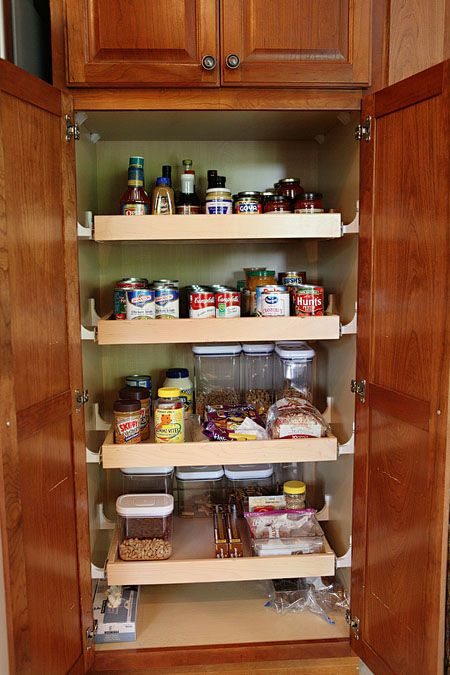 pull out pantry shelves kitchen ideas pinterest. Black Bedroom Furniture Sets. Home Design Ideas